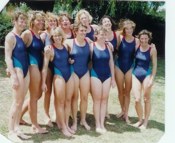 1990-91 Hobart, NSW Women's Team - Winners