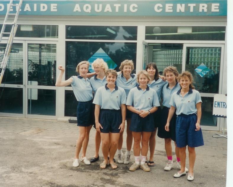 1989-90 Adelaide, NSW Women's Team